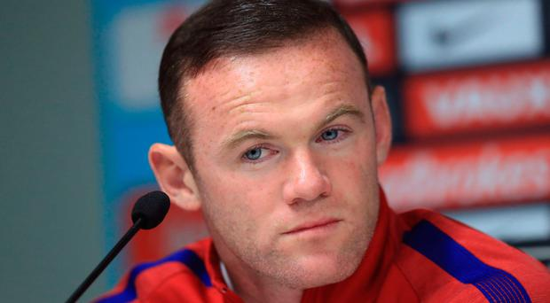 England's Wayne Rooney during a Press Conference at Stadion Stozice, Ljubliana. PA