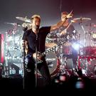 Nickelback perform at the SSE Arena in Belfast on October 10th 2016, Northern Ireland (Photo by Kevin Scott / Belfast Telegraph)