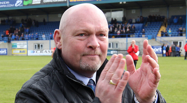 Familiar foe: Ballymena boss David Jeffrey will tonight will be plotting the downfall of Linfield, with whom he won 31 trophies as manager and player