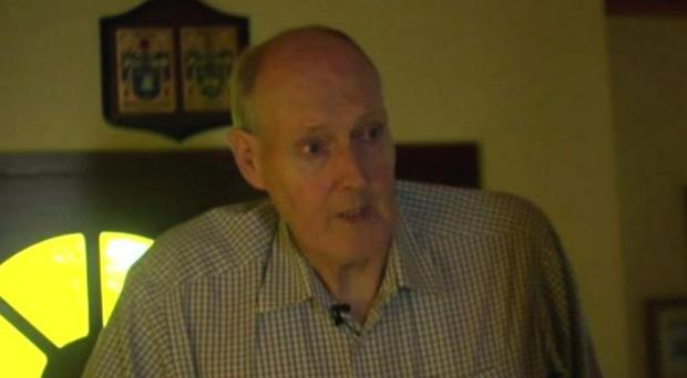 Dungannon man Brendan Holland has been treated for the condition. Pic BBC