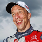 In driving seat: Kris Meeke