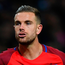 Class act: Jordan Henderson thrived in new England set-up