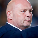 Special occasion: David Jeffrey gives the orders last night