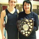 Top team: Caroline O'Hanlon (captain) and Denise Prue (coach)