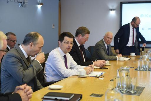 Northern Ireland Secretary James Brokenshire at Keystone