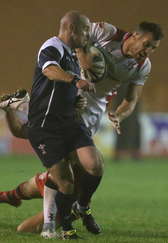 A-lister: Tommy Bowe in action for Ulster A last night against Jersey