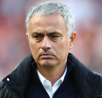 Testy: Jose Mourinho wasn't keen to open up at his press conference