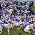 Just champion: Maghery celebrate their victory