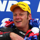 Shane Byrne has become the first rider to win five British Superbike Championships