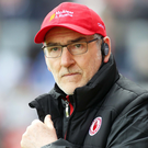 Final disappointment: Mickey Harte must wait for Tyrone decider