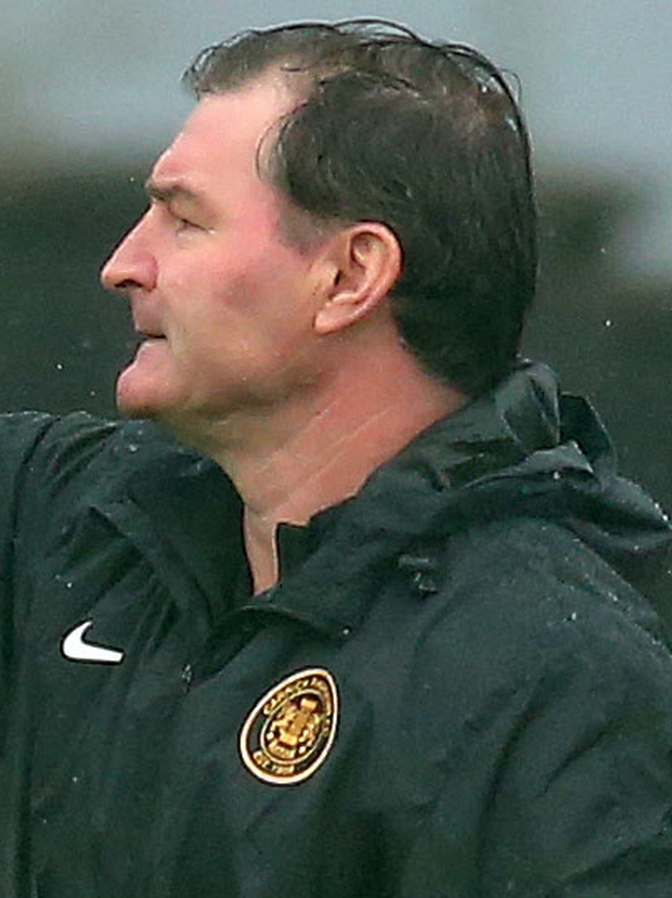 New Carrick Rangers manager Aaron Callaghan guided his men to their first point in eight games with a draw against Glenavon