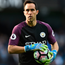Expectations: Manchester City's goalkeeper Claudio Bravo says the team still needs to settle