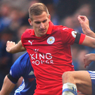 Warning: Leicester City's Marc Albrighton