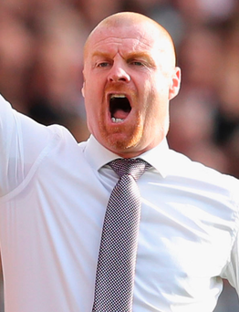 "Burnley manager Sean Dyche: ""The defining point is our penalty —it's impossible it's not a penalty."