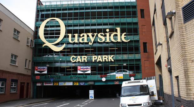 Quayside Shopping Centre in Londonderry is on the market