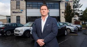 M&M boss Gareth Loye outside his company headquarters