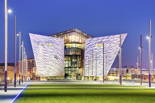Historic legacy: The Titanic Belfast building