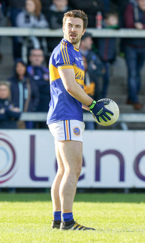 Winning feeling: Maghery ace Aidan Forker had a key role in his club being crowned Armagh champions for the first time