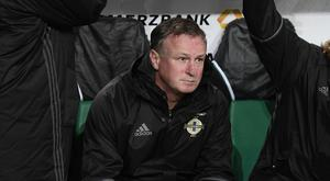 Michael O'Neill deserves an immense amount of credit for taking Northern Ireland to heights the Green and White Army could never have dreamed of. Pic: Colm Lenaghan/Pacemaker Press.