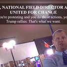 Scott Foval is secretly recorded saying: 'If you do these actions, you will be attacked at Trump rallies. Thats what we want'