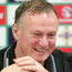 Sitting pretty: Michael O'Neill is in no rush to leave the NI job. Photo: Jonathan Porter/Press Eye