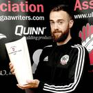 Prize possession: Conor Laverty is the UGAAWA player of the month