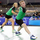 Sinead and Ciaran Chambers will defend their mixed doubles title at the Forza Ulster Open this weekend
