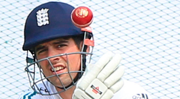 Eye on ball: Alastair Cook and England face tough schedule