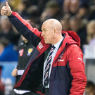 Feeling good: Mark Waburton is sure Gers are in fine fettle