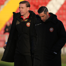 Taking the reins: Vinny Arkins and Keith O'Hara will help Portadown through its current crisis