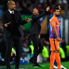 In charge: Pep Guardiola is imposing his authority at Manchester City