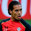 Tough one: Virgil van Dijk, at San Siro last night, feels Saints were unlucky