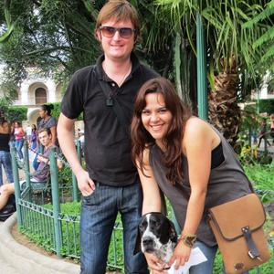 Peter and Elvira in Guatemala in August 2015.
