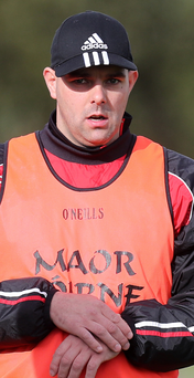 Showdown: Johnny Campbell has steered Loughgiel to Ulster final