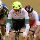 Back in saddle: Martyn Irvine competing in the 2014 Commonwealth Games in Glasgow