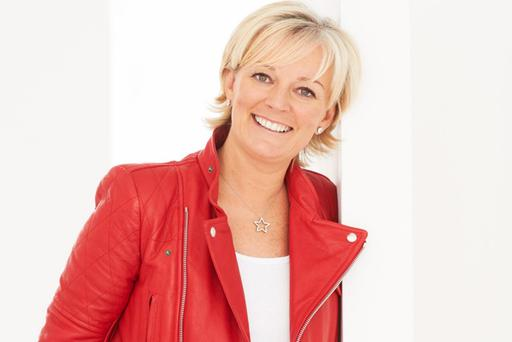 Smell of success: Jo Malone's interest in perfume came from her beautician mother