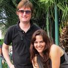 Peter McGarry with his girlfriend Elvira Mendez in Guatemala