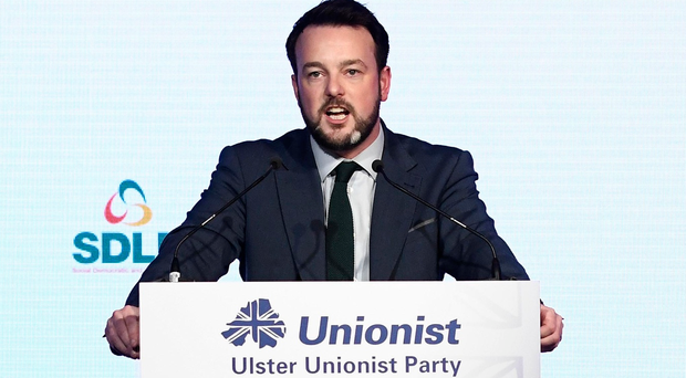SDLP chief tells UUP conference that Northern Ireland opposition parties 'must break cosy establishment'