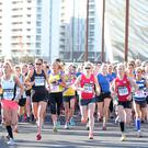 Press Eye Belfast - Northern Ireland 23rd October Belfast Telegraph and Pure Running RunHer Titanic 5&10K race in the Titanic Quarter of Belfast City Centre. Picture by Jonathan Porter/Press Eye
