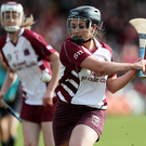 Drawing comfort: Slaughtneil's Mary Kelly whose late point brought the decider to exta-time