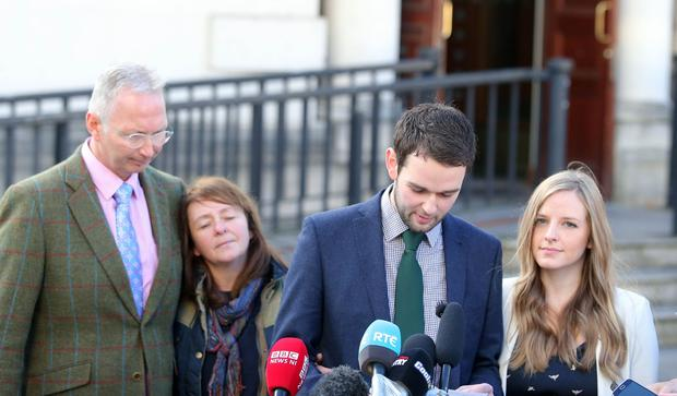 Press Eye Belfast - Northern Ireland 24th October Asher's Bakery loose appeal on the judgement over them not wanting to bake a 'gay cake'. Two years ago, the family-run firm refused to make a cake for gay rights activist Gareth Lee with the slogan