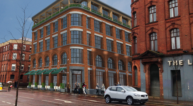 An artist's impression of what Armagh House will look like