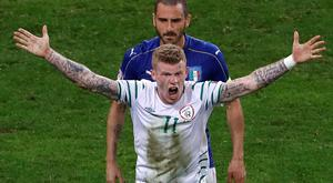 Republic of Ireland international James McClean has taken aim at Derry City manager Kenny Shiels