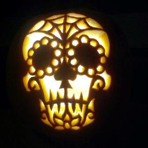 Derek Smith from Coleraine has been carving pumpkins for a few years and would usually do about 30 over two weeks in the run up to Halloween.