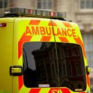 A man has been taken to hospital following a serious road collision in Co Antrim yesterday evening