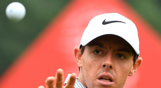 Focused: Rory McIlroy is targeting a FedEx Cup/Race to Dubai brace