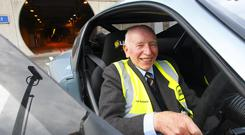 Stopping by: John Surtees CBE is lending his support to the SPARKS NI Celebration of Motorsport Charity Dinner and Auction