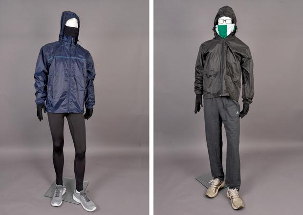 Clothing similar to that worn by Joe Reilly's killers