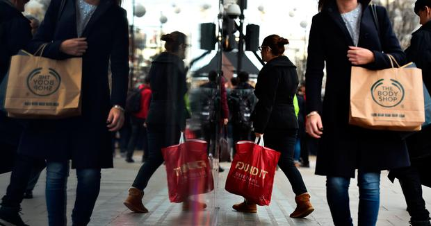Retail sales enjoyed a rise
