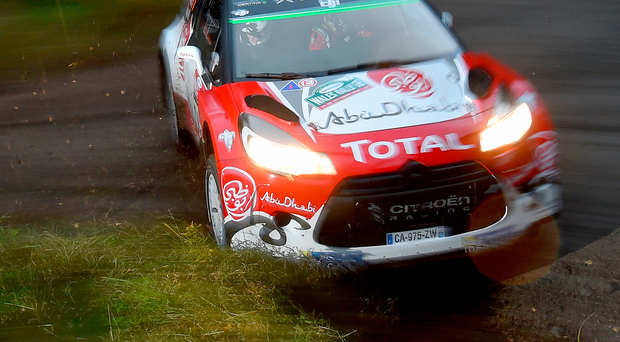 Special memories: Kris Meeke fell in love with Rally GB as a fan back in 1997 and is striving to give the Citroen DS3 WRC a fitting send-off with victory in Wales